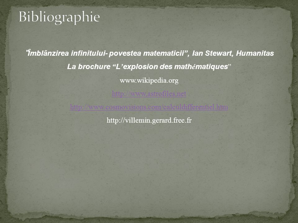 La brochure L'explosion des mathématiques