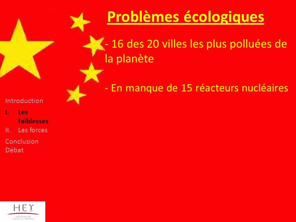 Problèmes écologiques