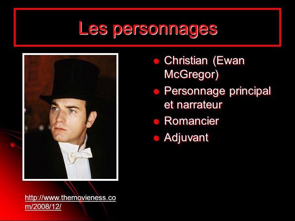 Les personnages Christian (Ewan McGregor)