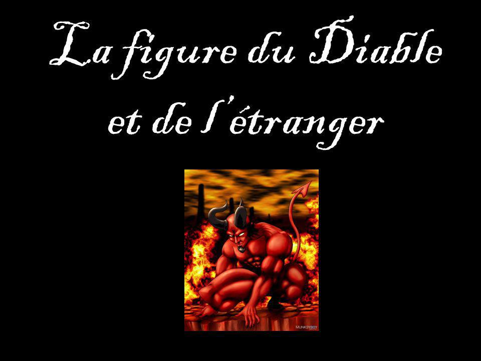 La figure du Diable et de l'étranger