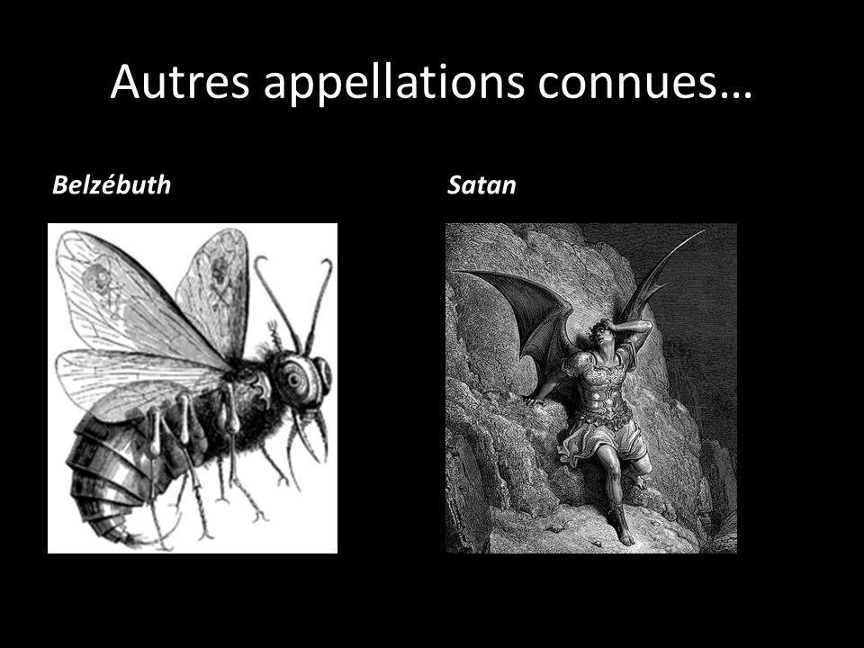 Autres appellations connues…