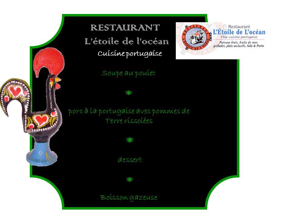 porc à la portugaise avec pommes de