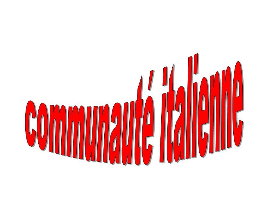 communauté italienne