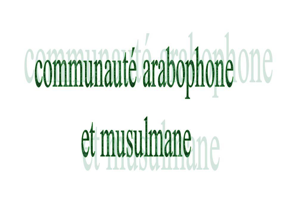 communauté arabophone