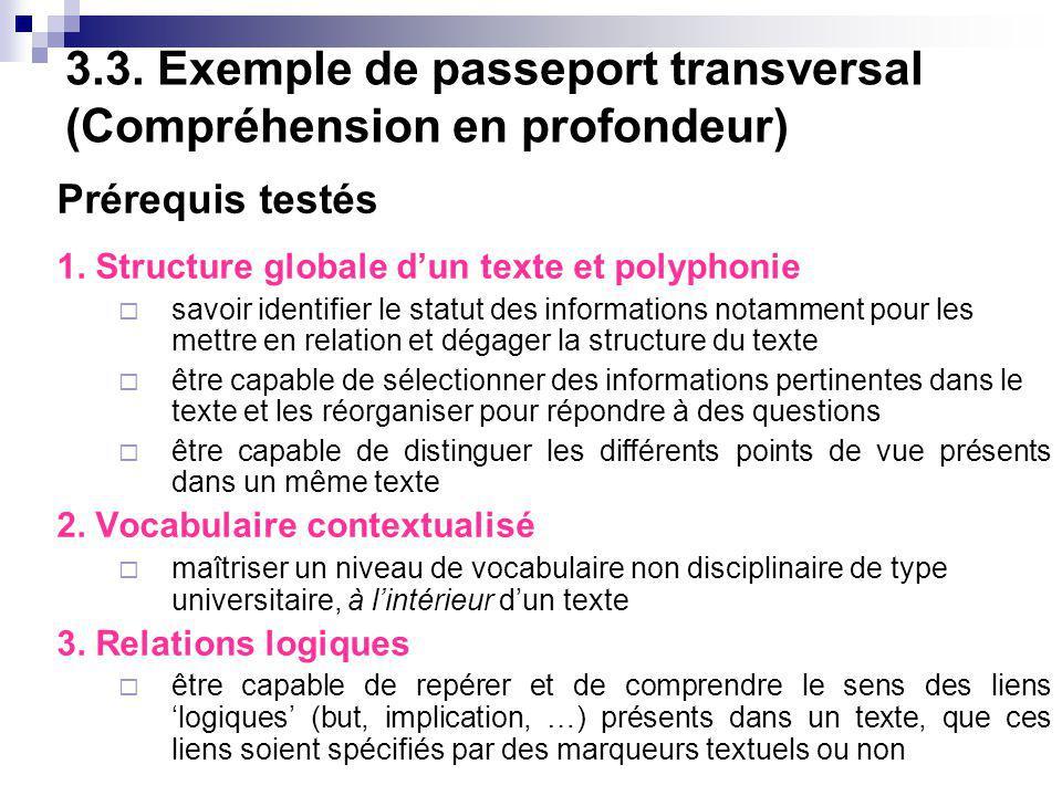 3.3. Exemple de passeport transversal (Compréhension en profondeur)