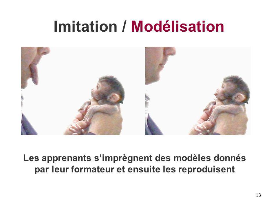 Imitation / Modélisation