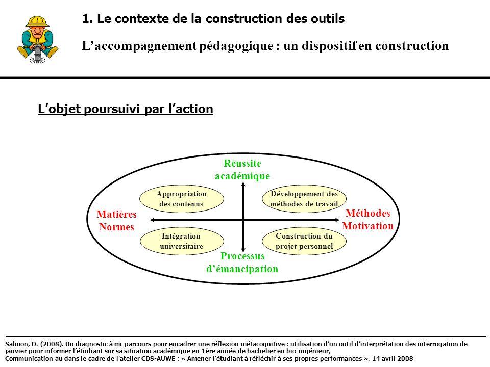 L'accompagnement pédagogique : un dispositif en construction