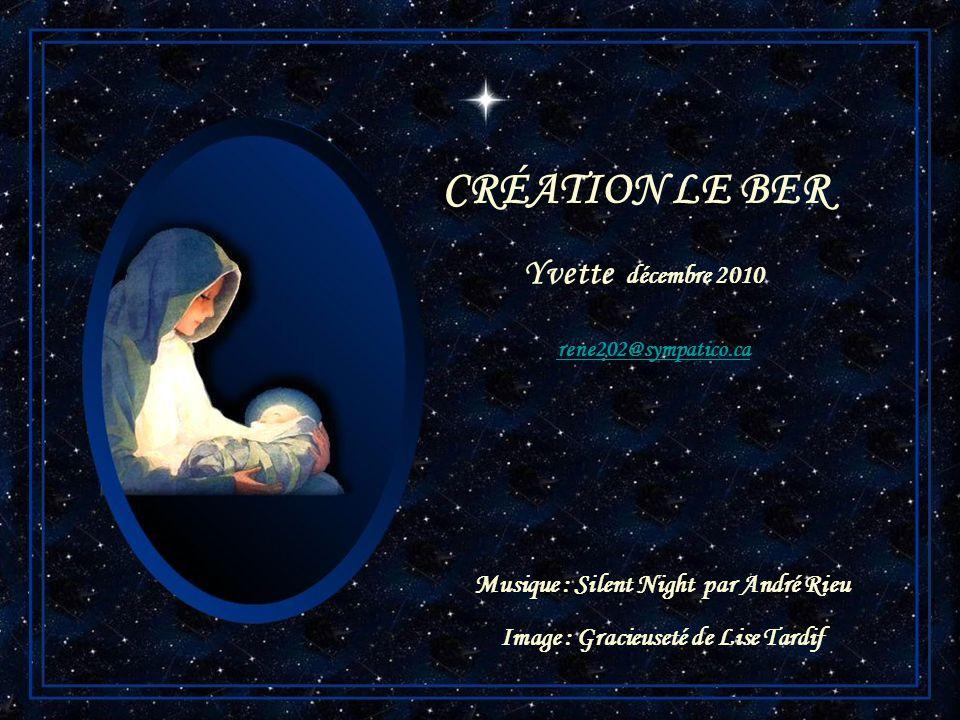 CRÉATION LE BER Yvette décembre 2010