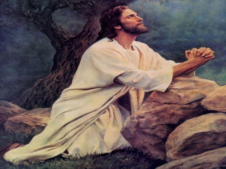 Jésus prie