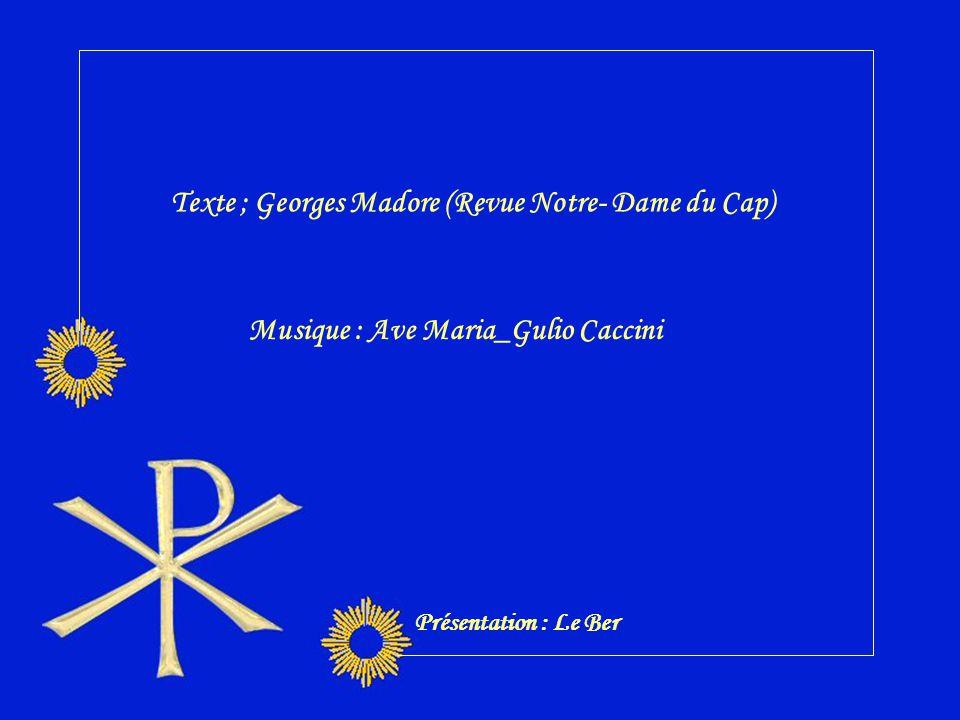 Texte ; Georges Madore (Revue Notre- Dame du Cap)