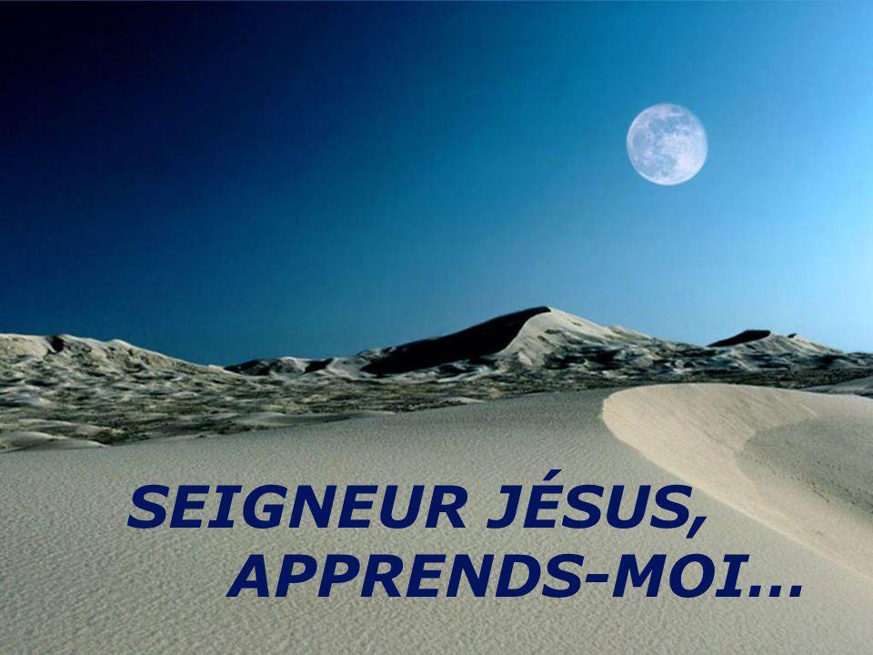 SEIGNEUR JÉSUS, APPRENDS-MOI…