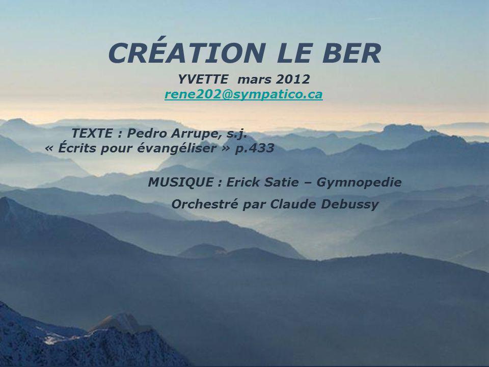 CRÉATION LE BER YVETTE mars 2012 rene202@sympatico.ca