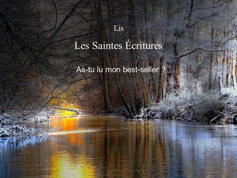Lis Les Saintes Écritures.