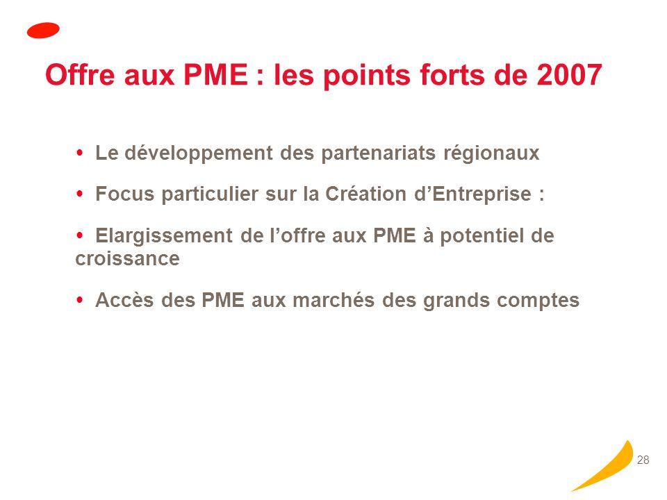 Les objectifs 2008 Intégration de l'Agence de l'Innovation Industrielle dans OSEO.