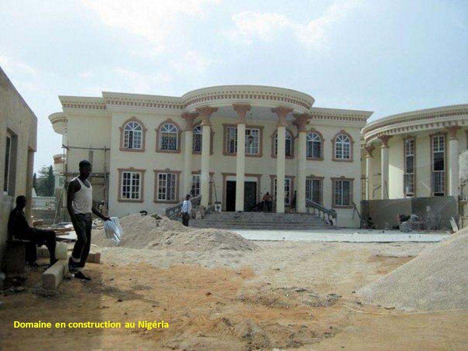 Domaine en construction au Nigéria
