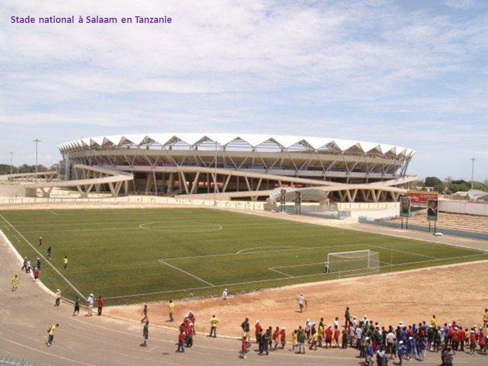 Stade national à Salaam en Tanzanie