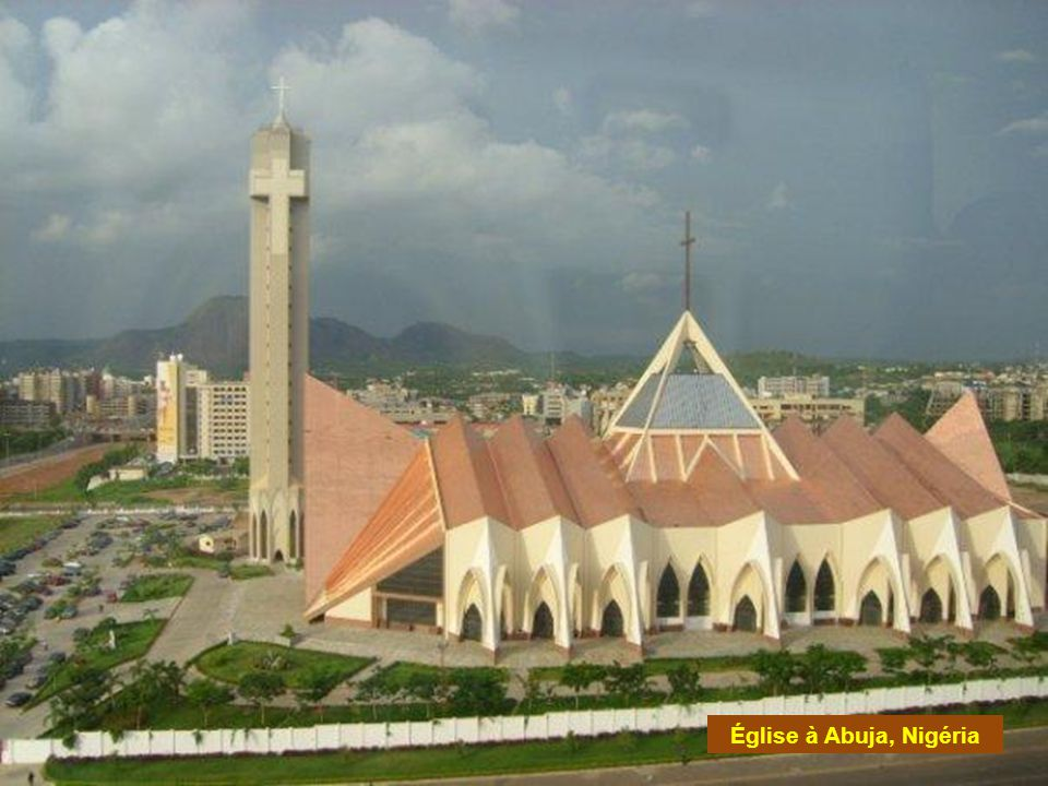 Église à Abuja, Nigéria