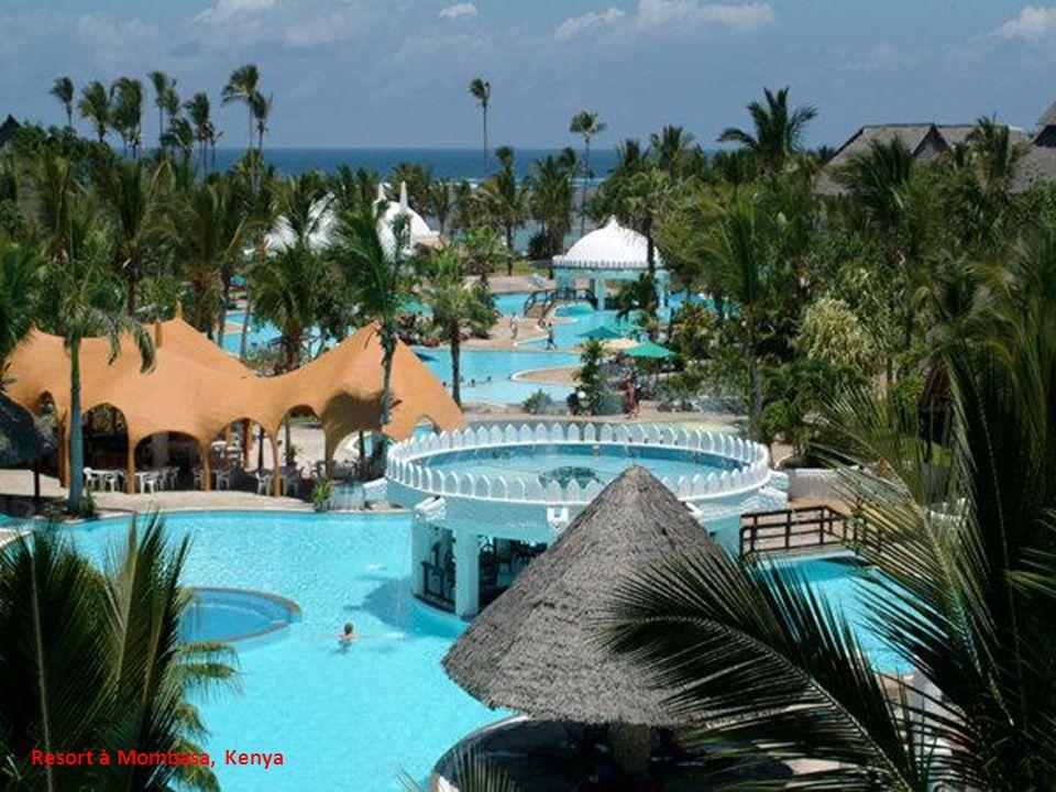 Resort à Mombasa, Kenya