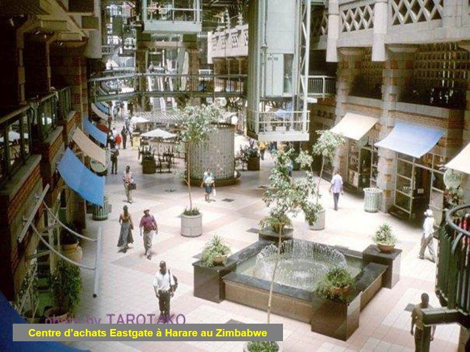 Centre d'achats Eastgate à Harare au Zimbabwe