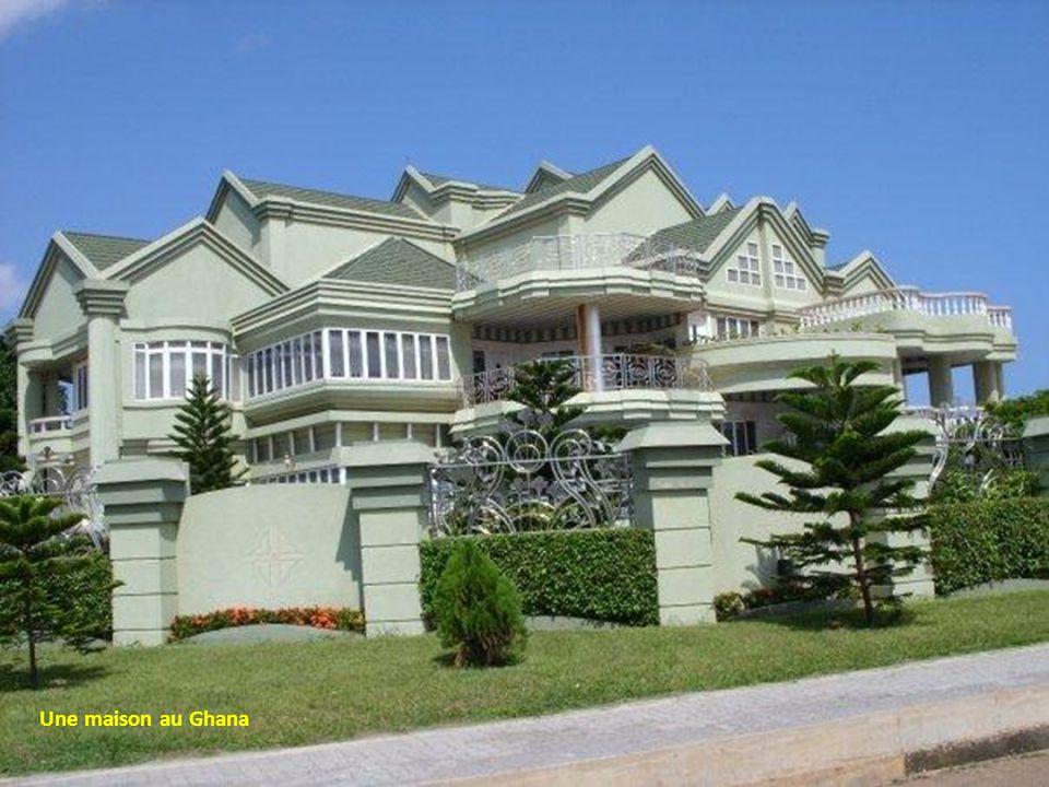 Une maison au Ghana