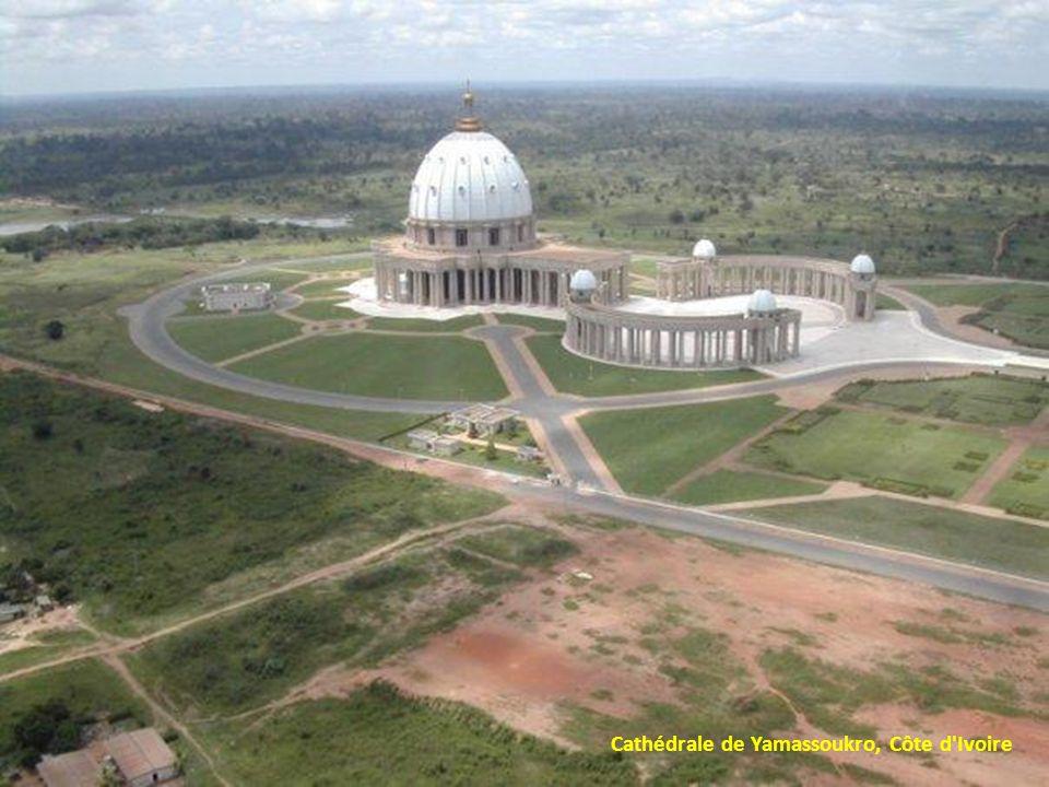 Cathédrale de Yamassoukro, Côte d Ivoire