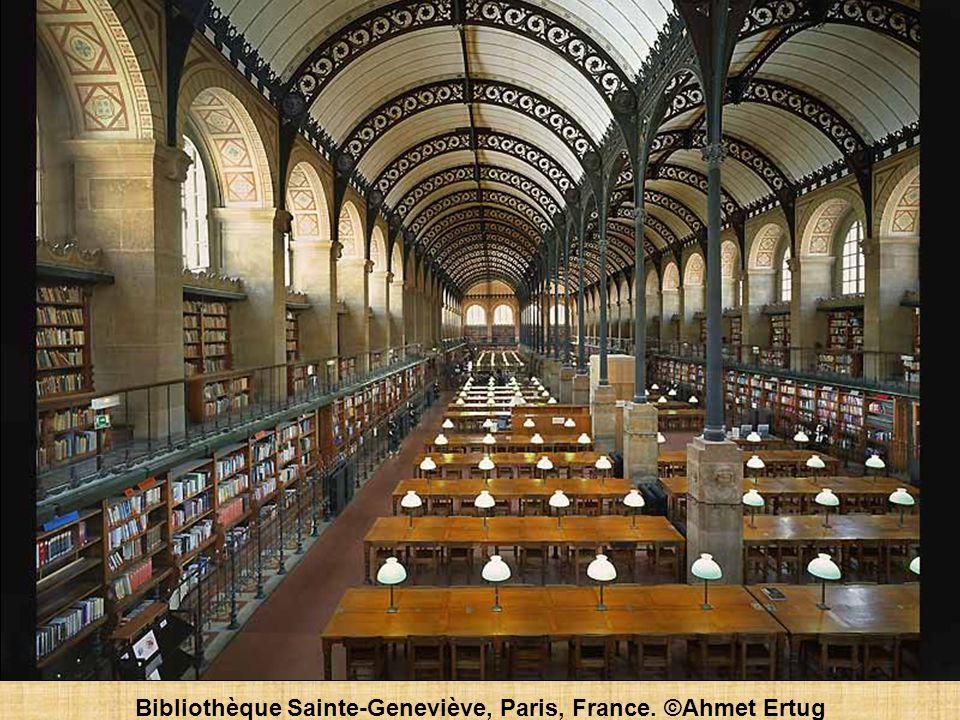 Bibliothèque Sainte-Geneviève, Paris, France. ©Ahmet Ertug