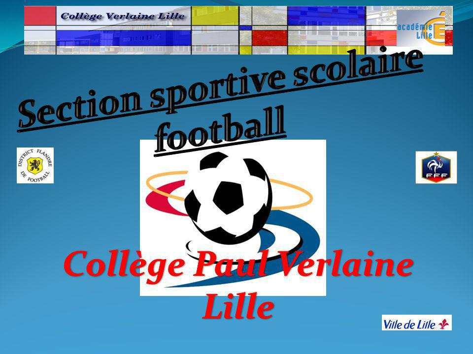 Section sportive scolaire football