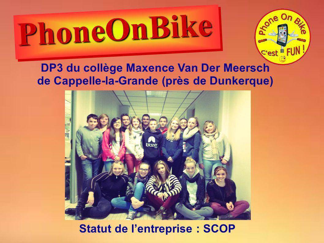 PhoneOnBike DP3 du collège Maxence Van Der Meersch