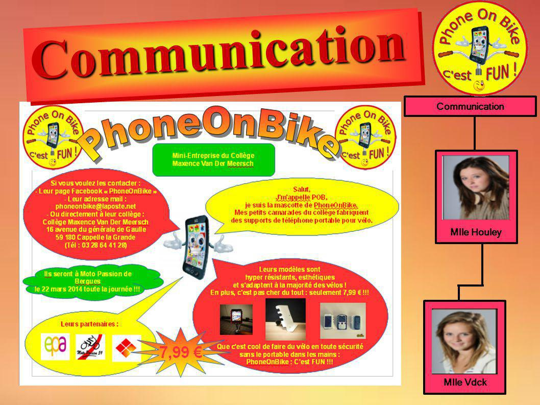 Communication Communication Mlle Houley Mlle Vdck