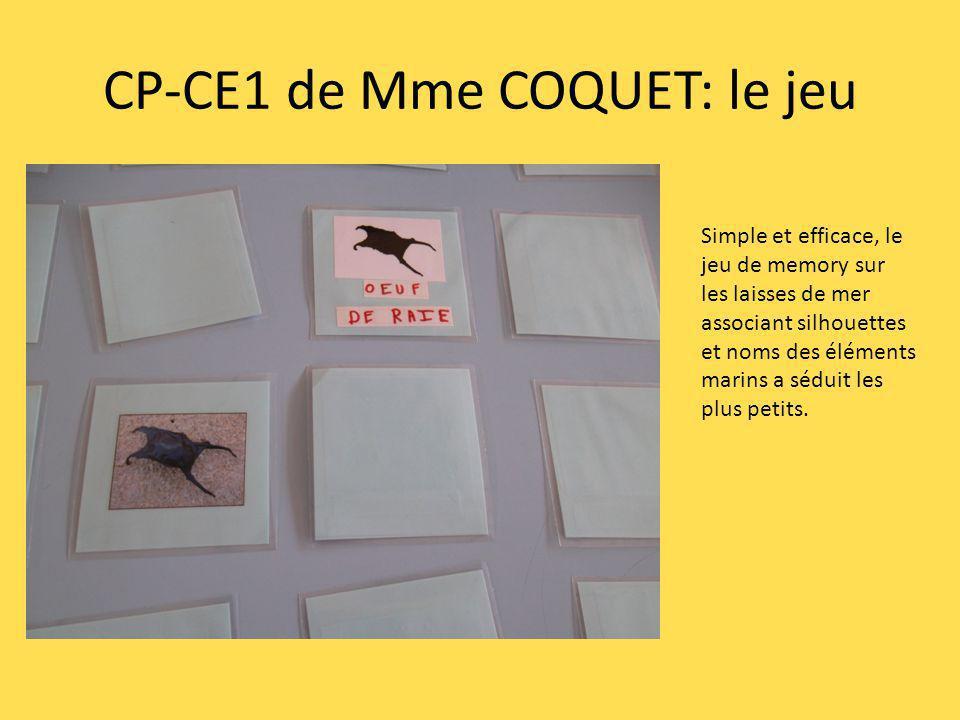 CP-CE1 de Mme COQUET: le jeu