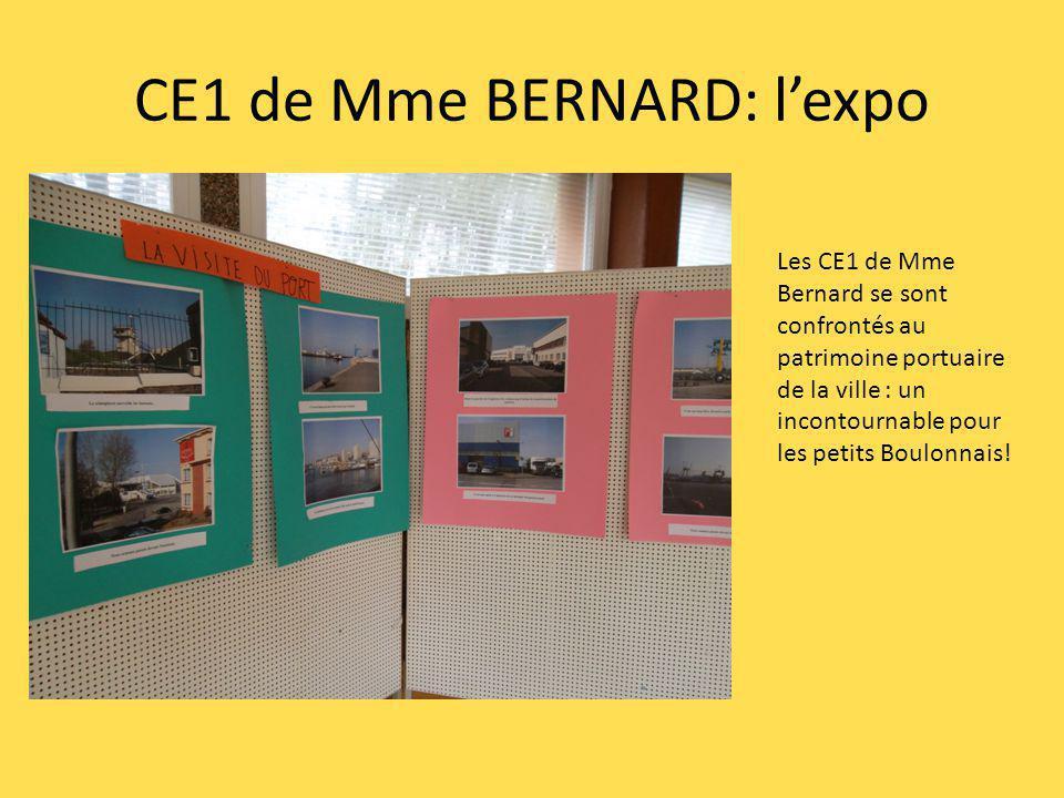 CE1 de Mme BERNARD: l'expo