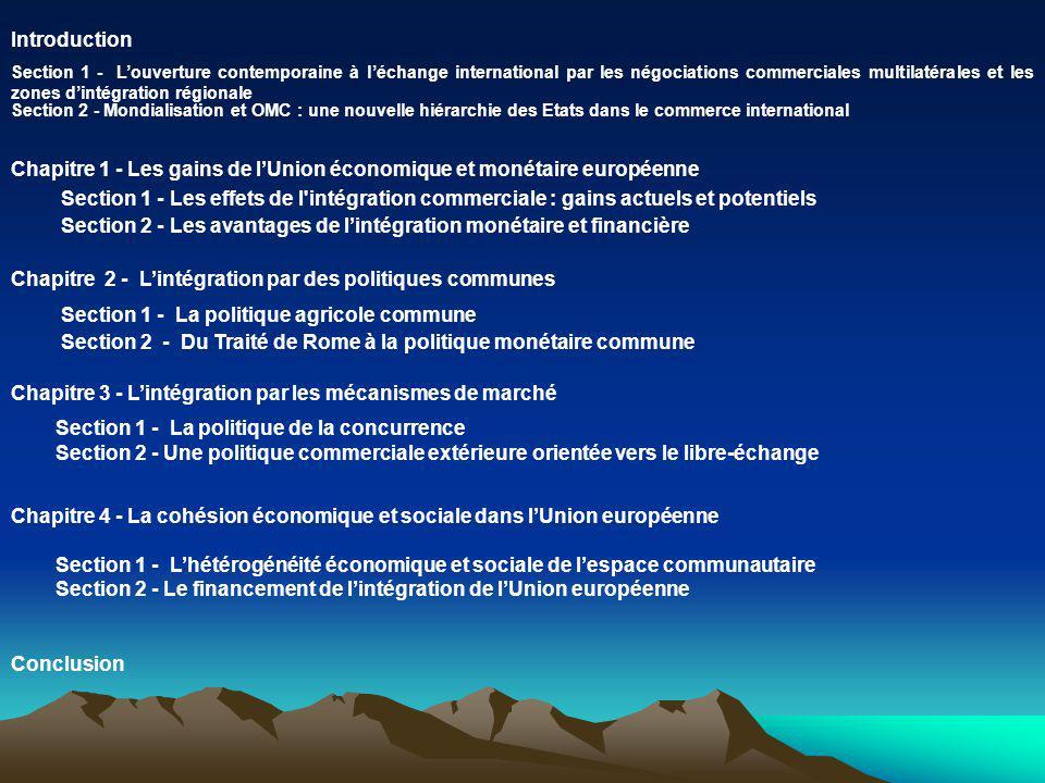 Chapitre 1 - Les gains de l'Union économique et monétaire européenne