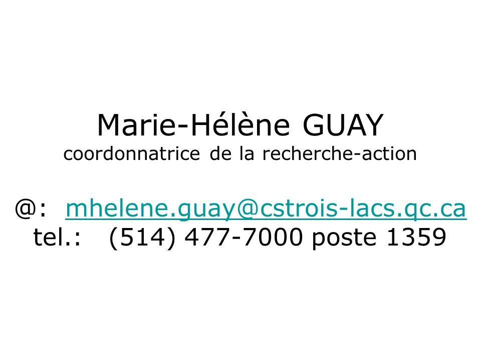 Marie-Hélène GUAY @: mhelene.guay@cstrois-lacs.qc.ca