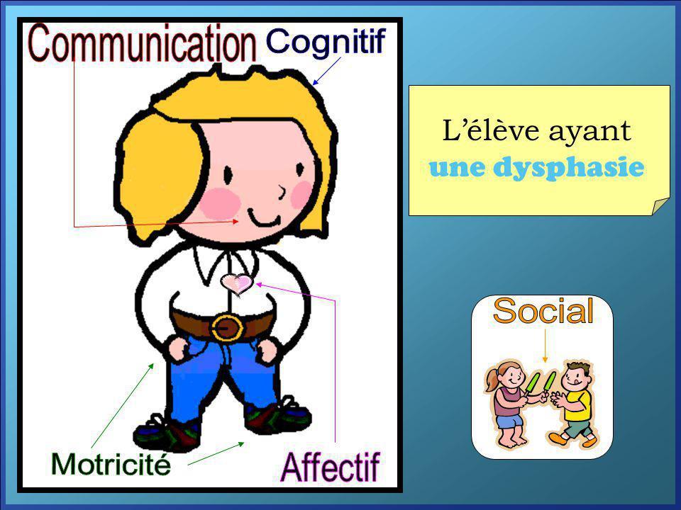 L'élève ayant une dysphasie