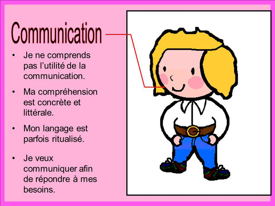 Communication Je ne comprends pas l'utilité de la communication.