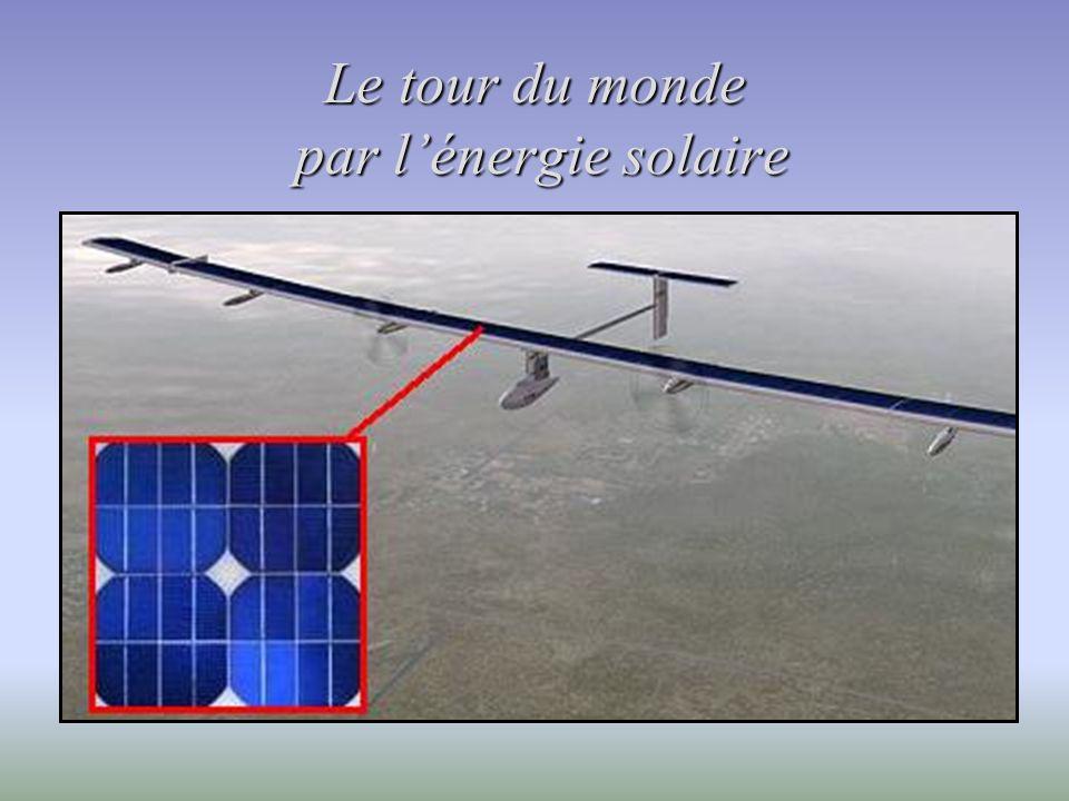 Le tour du monde par l'énergie solaire