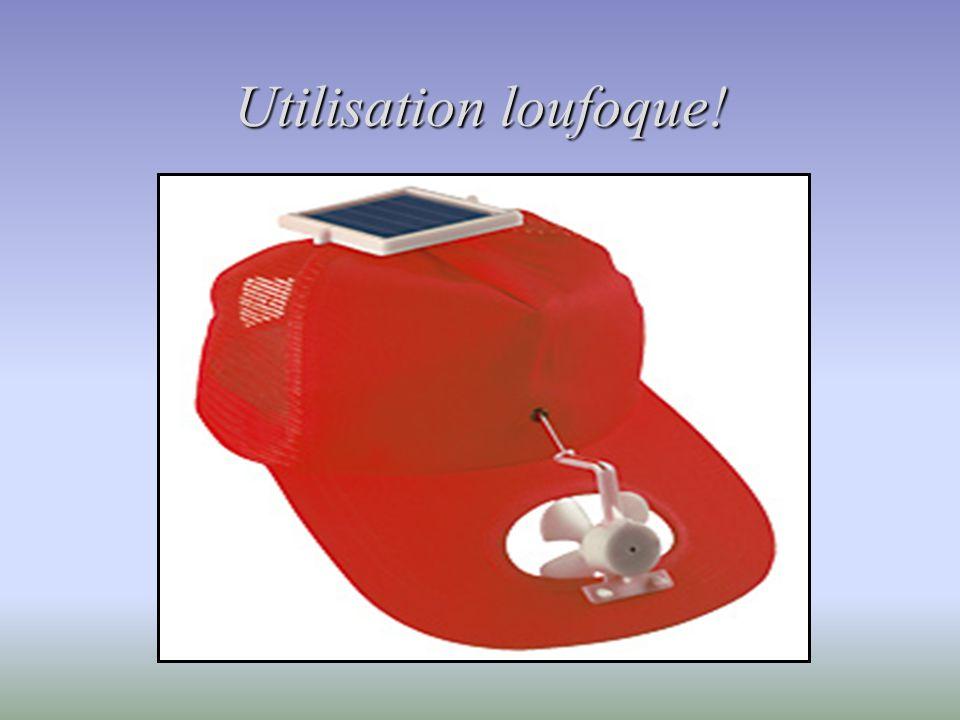 Utilisation loufoque!
