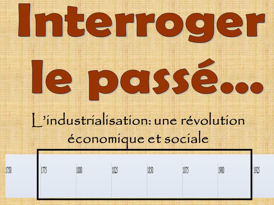 L'industrialisation: une révolution économique et sociale