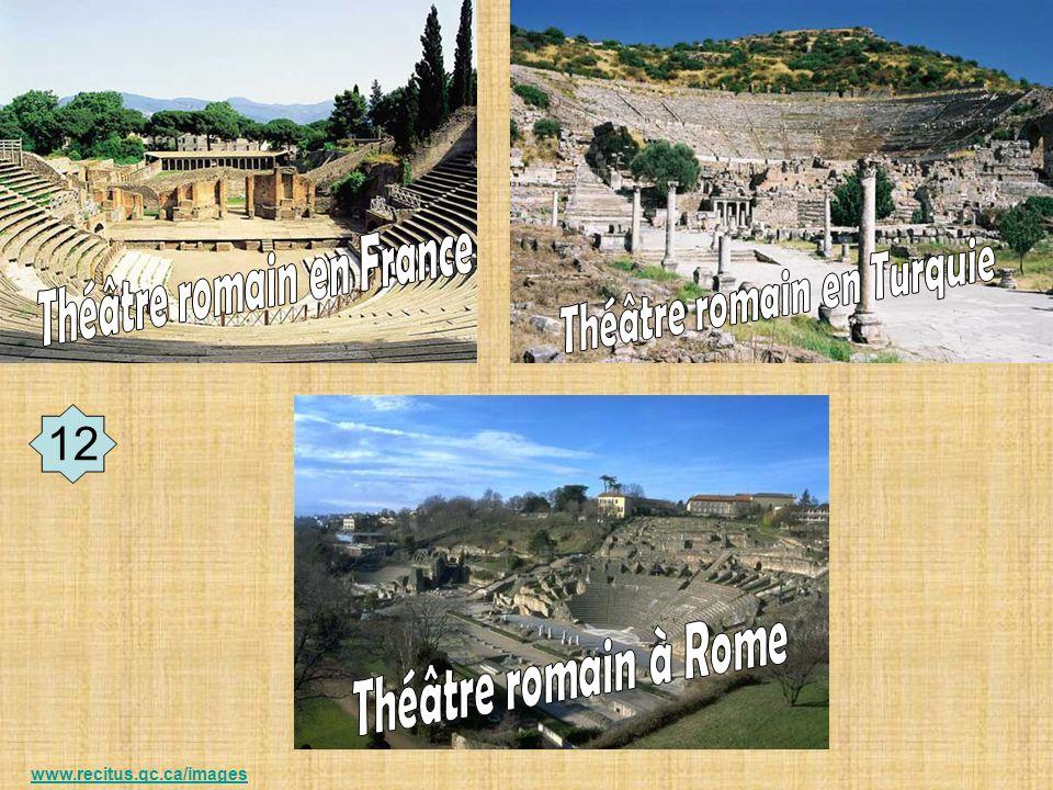 Théâtre romain en France Théâtre romain en Turquie