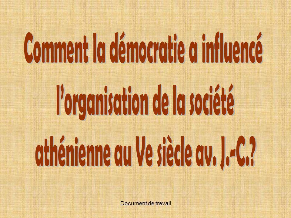 Comment la démocratie a influencé l'organisation de la société