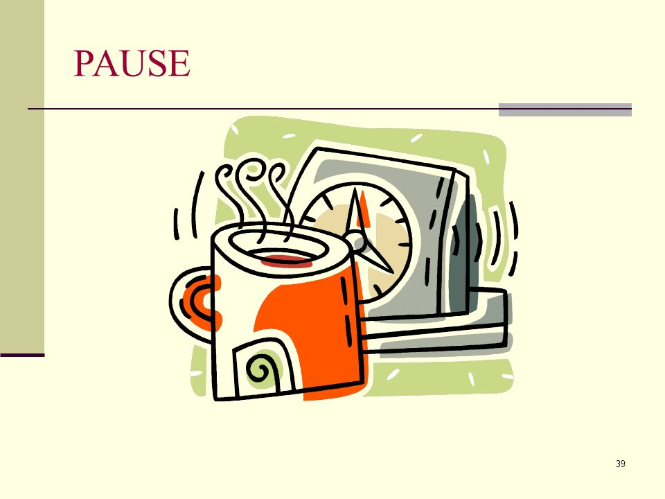 PAUSE Julie
