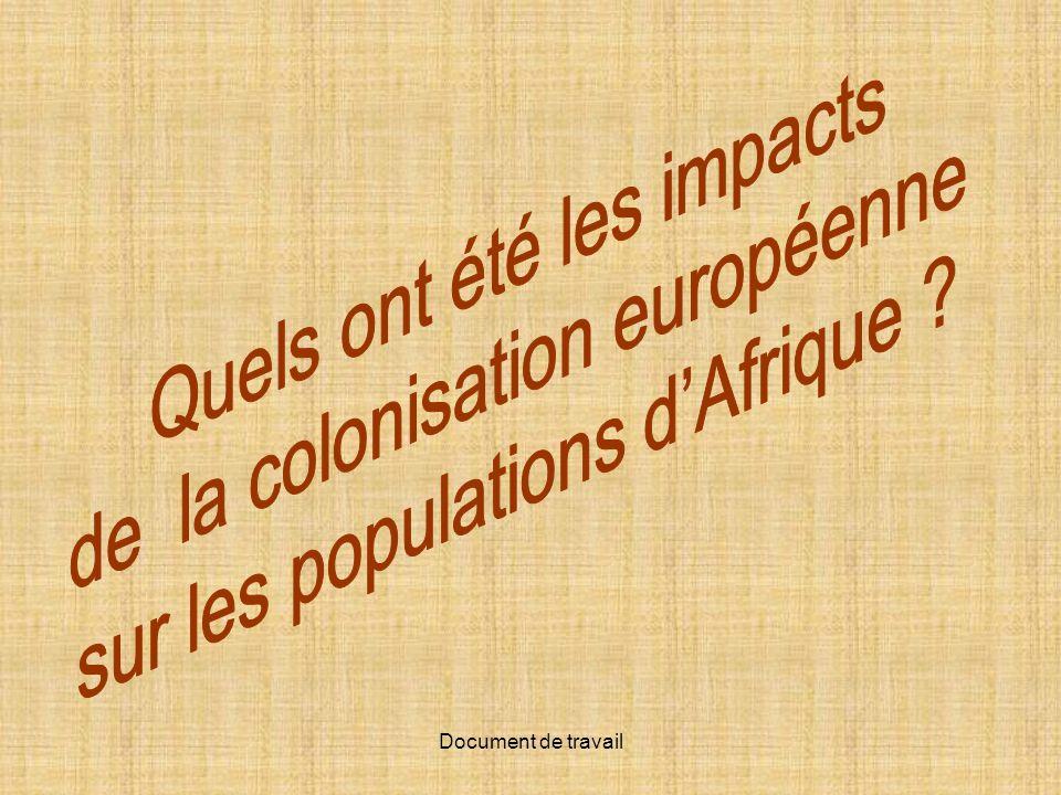 Quels ont été les impacts de la colonisation européenne