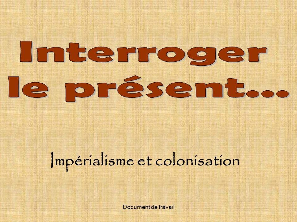 Impérialisme et colonisation