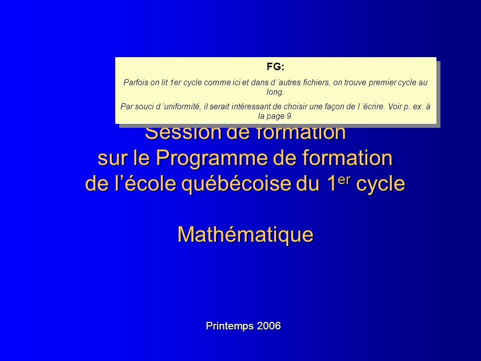Document 1.3.1 FG: Parfois on lit 1er cycle comme ici et dans d 'autres fichiers, on trouve premier cycle au long.