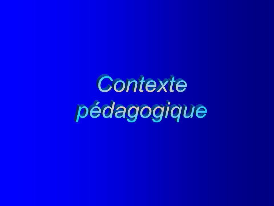 Document 1.3.1 Contexte pédagogique