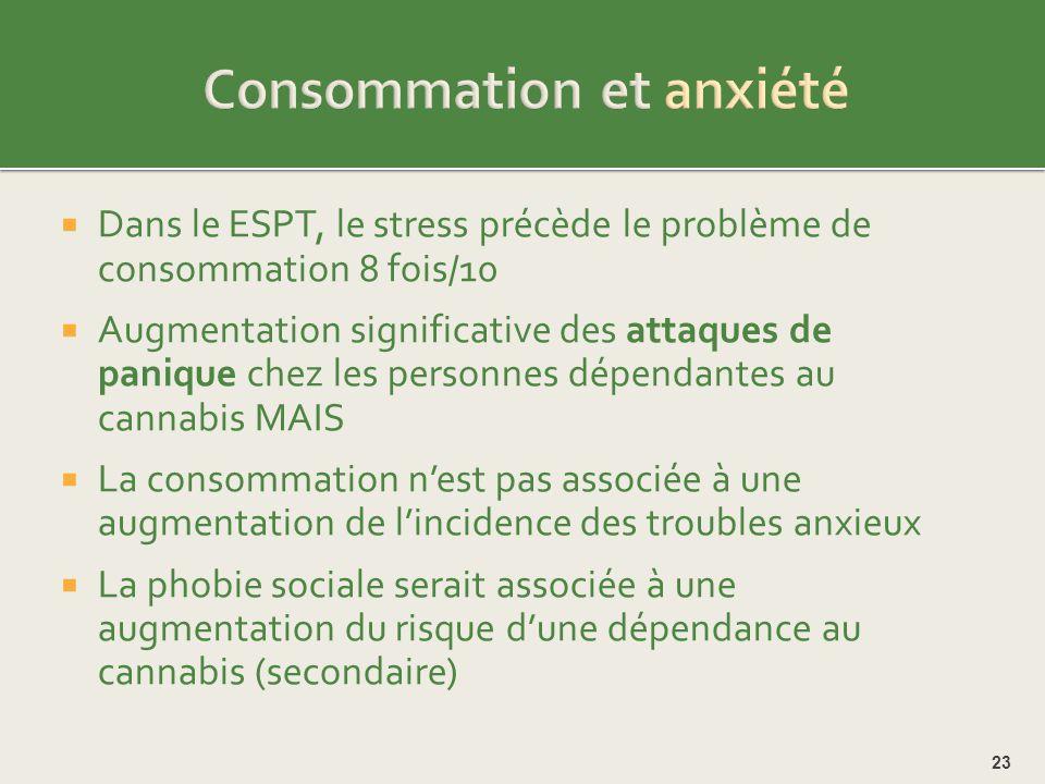 Consommation et anxiété