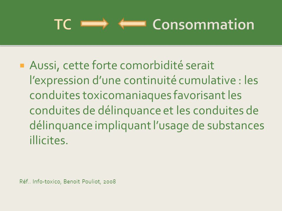 TC Consommation