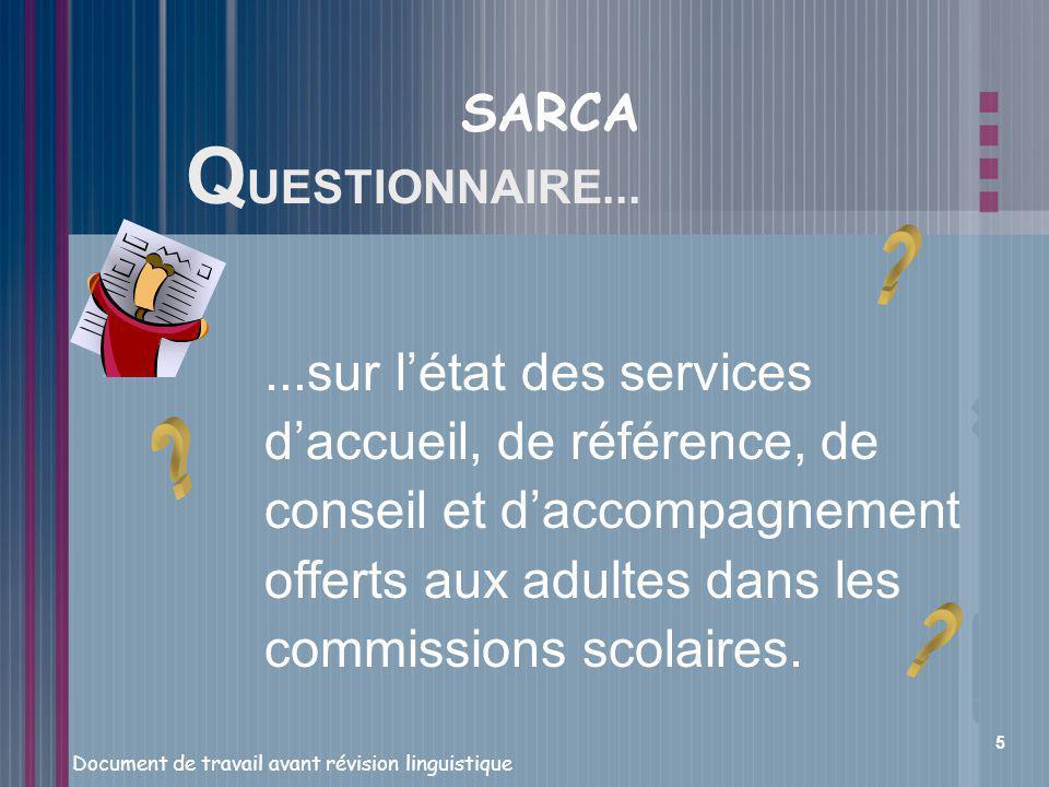 SARCA QUESTIONNAIRE...