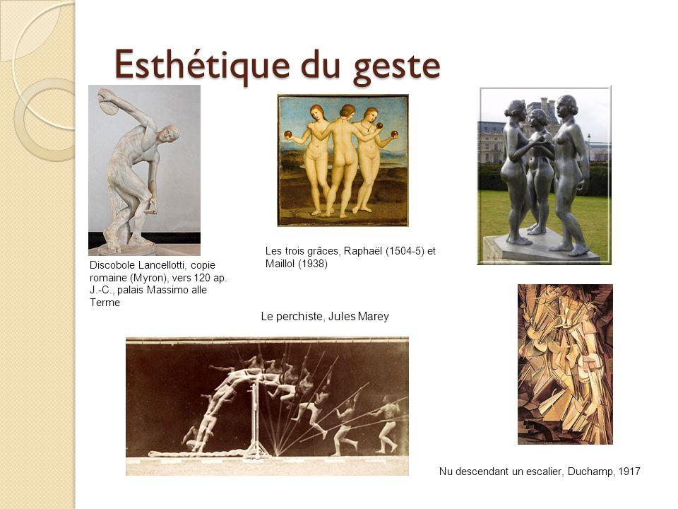 Esthétique du geste Le perchiste, Jules Marey