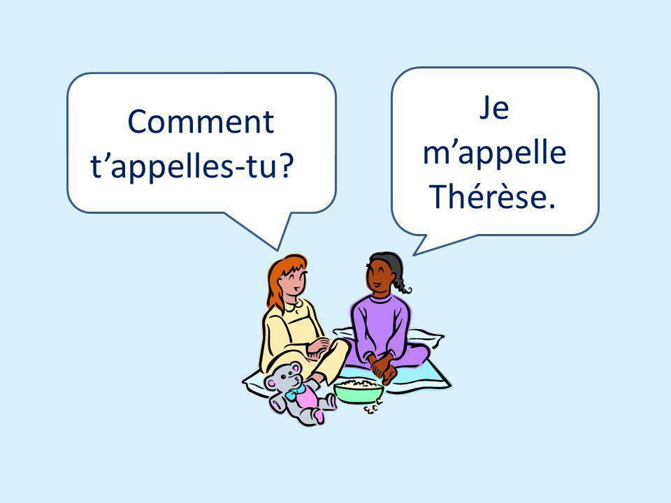 Comment t'appelles-tu